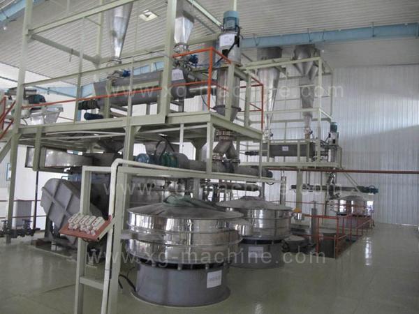 变性淀粉--干法生产线
